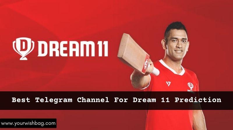 Best Telegram Channels For Dream 11 Prediction