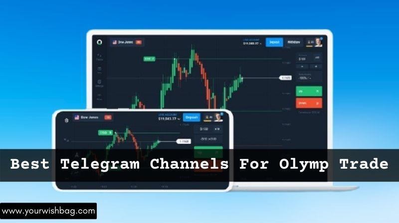 3 Best Telegram Channels For Olymp Trade [Updated List]