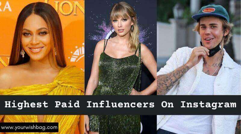 15 Highest Paid Influencers On Instagram [Updated List]