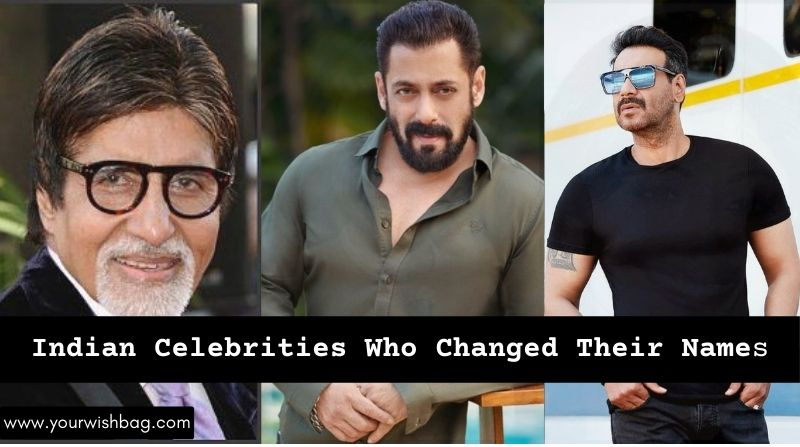 Indian Celebrities Who Changed Their Names