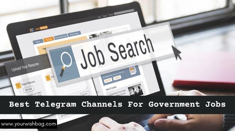 5 Best Telegram Channels For Government Jobs [Best Picks]