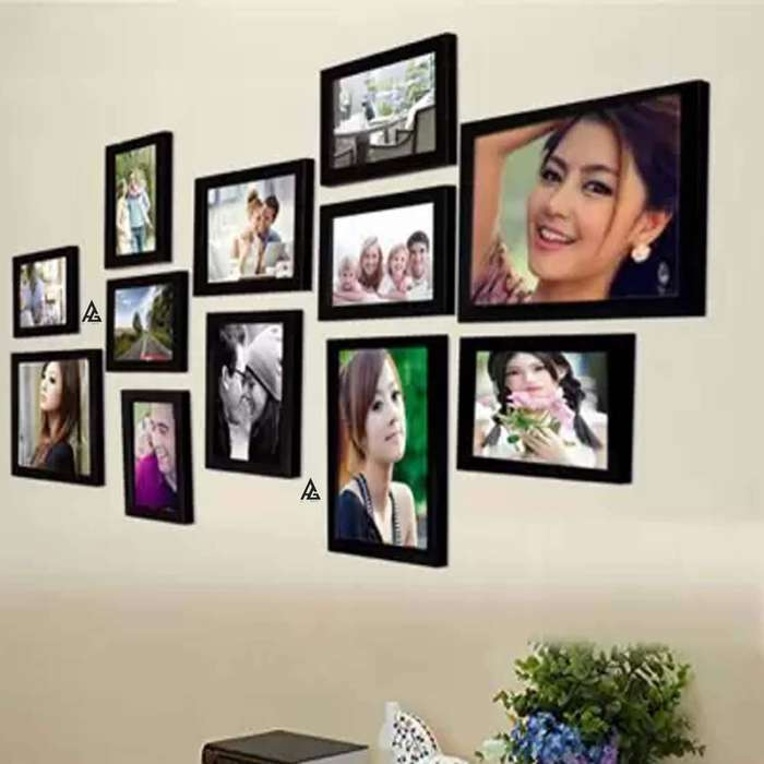 AG Crafts Wood Wall Photo Frame
