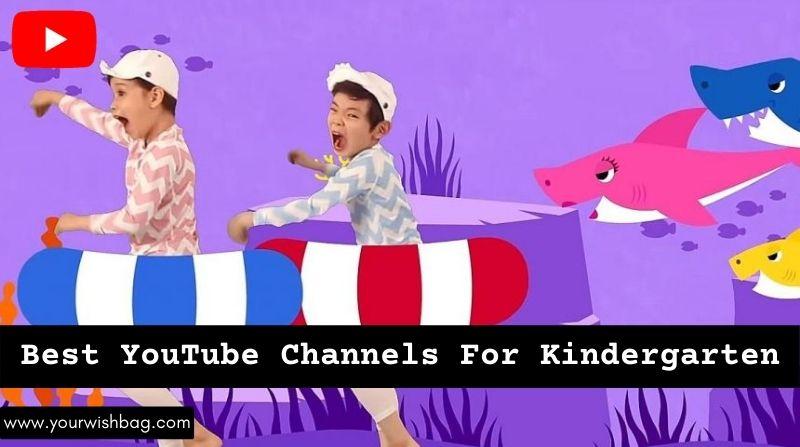 5 Best YouTube Channels For Kindergarten [Best Picks]