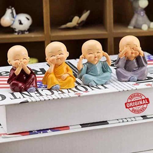 Buddha Monk Statues