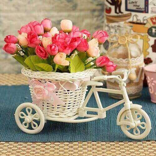 Cycle Shape Flower Vase